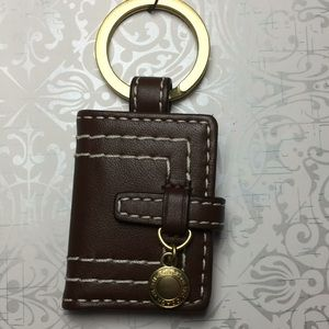 New authentic Coach picture keychain